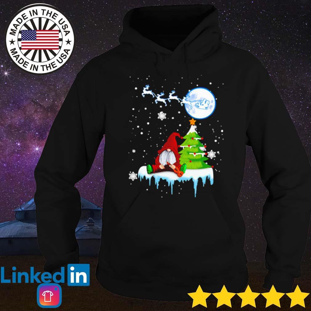 Gnome play violin Merry Christmas sweater Hoodie