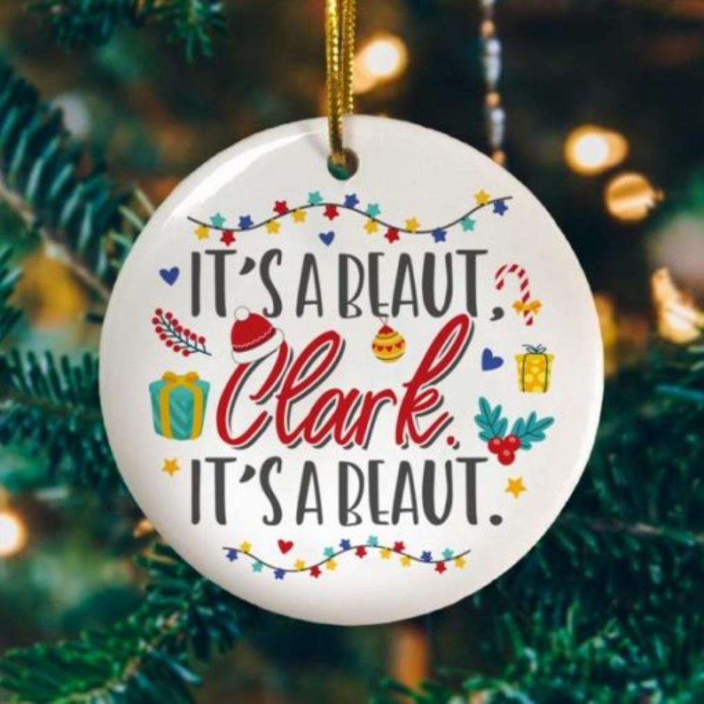 Its a beaut Clark lights Christmas ornament