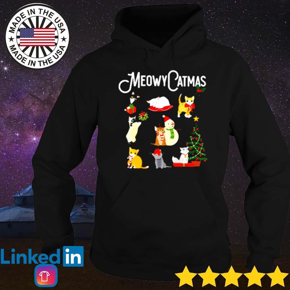 Meowy Catmas Christmas sweater Hoodie