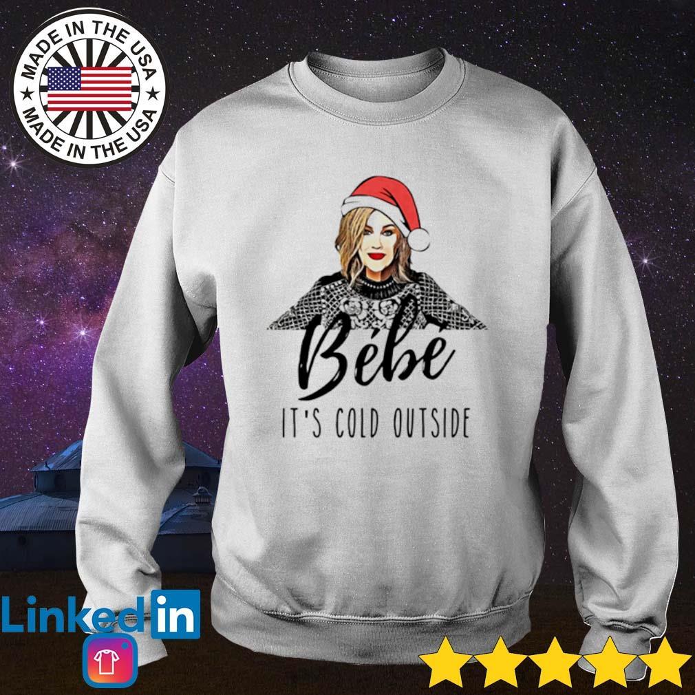 Moira Rose bebe it's cold outside Christmas sweater