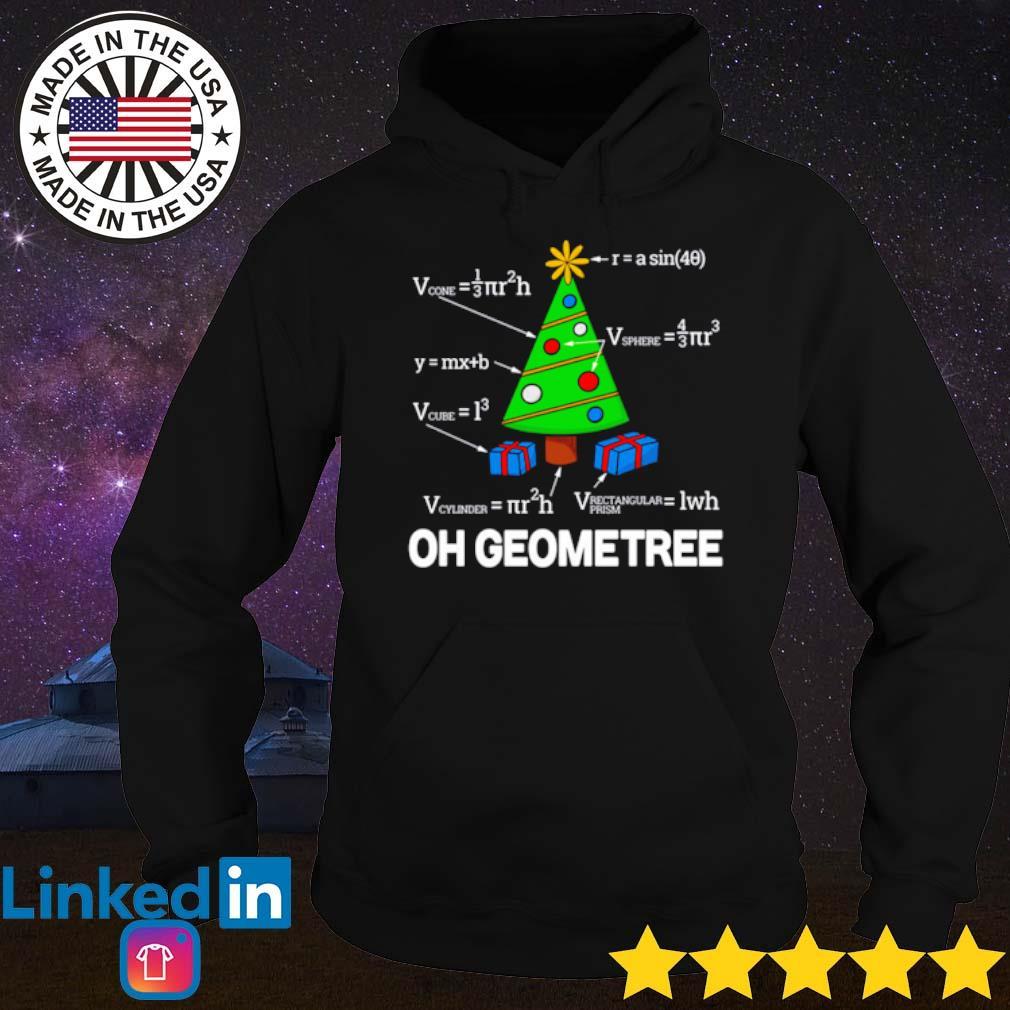 Oh Geometree math Christmas sweater Hoodie