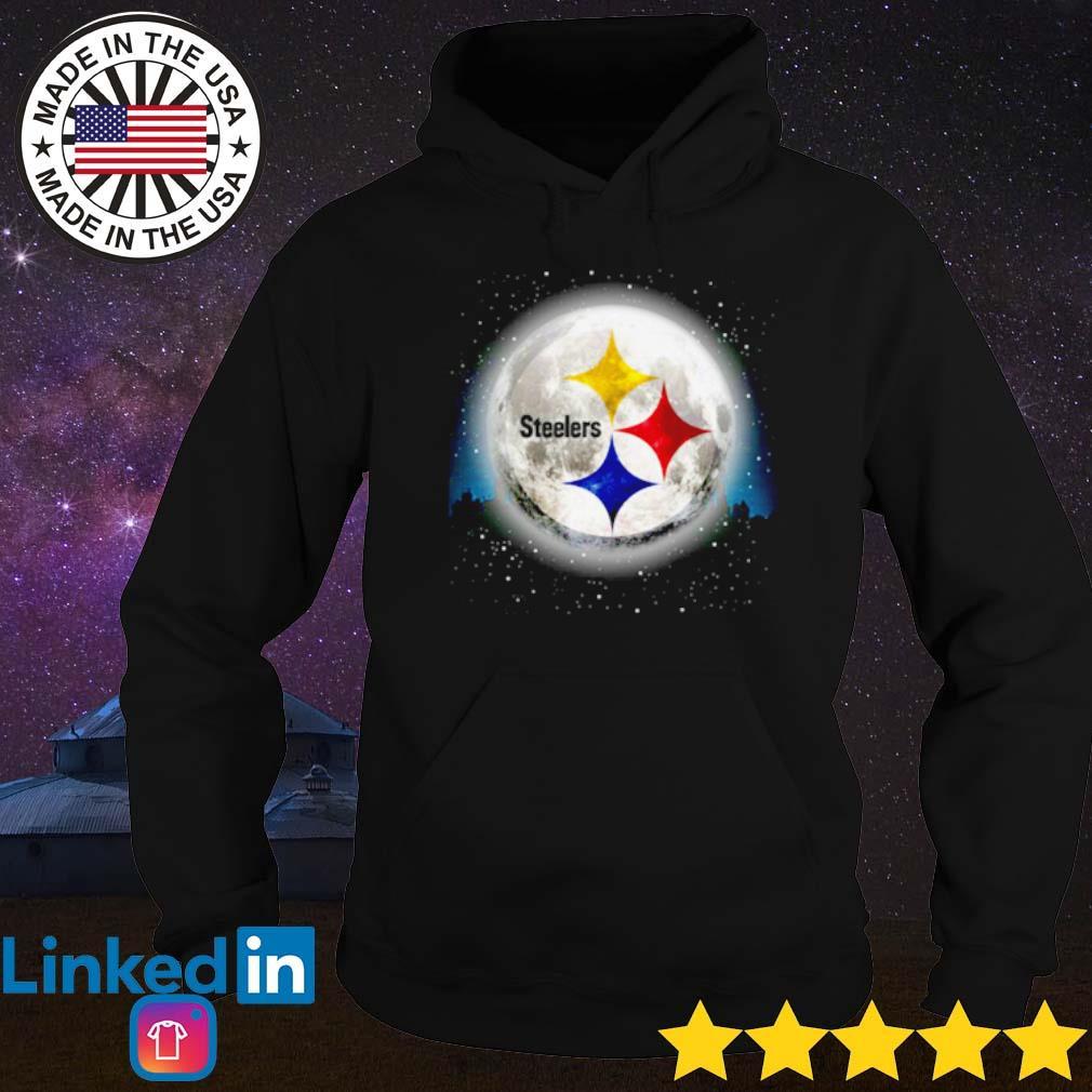 Pittsburgh Steelers moon Christmas sweater Hoodie