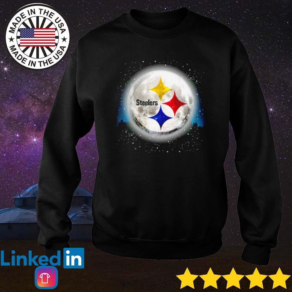 Pittsburgh Steelers moon Christmas sweater