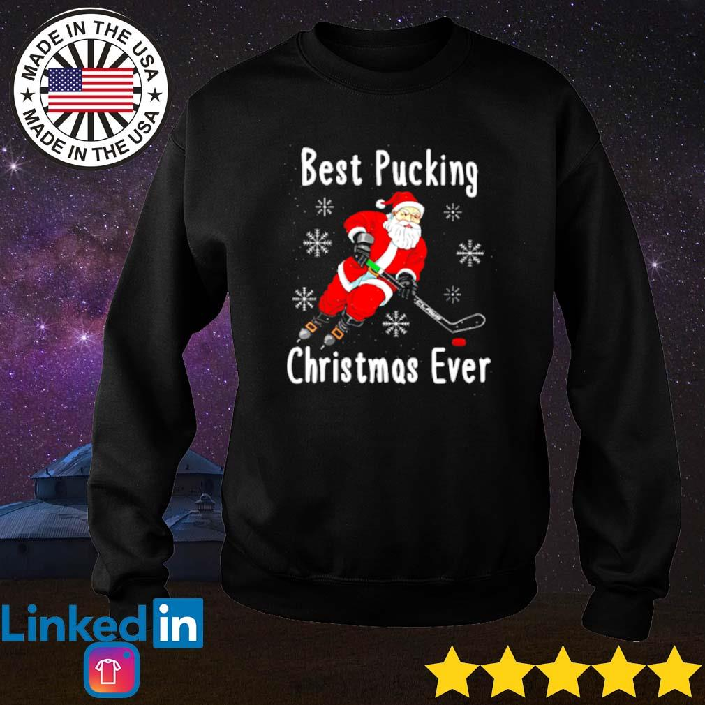 Santa Claus best pucking Christmas ever sweater