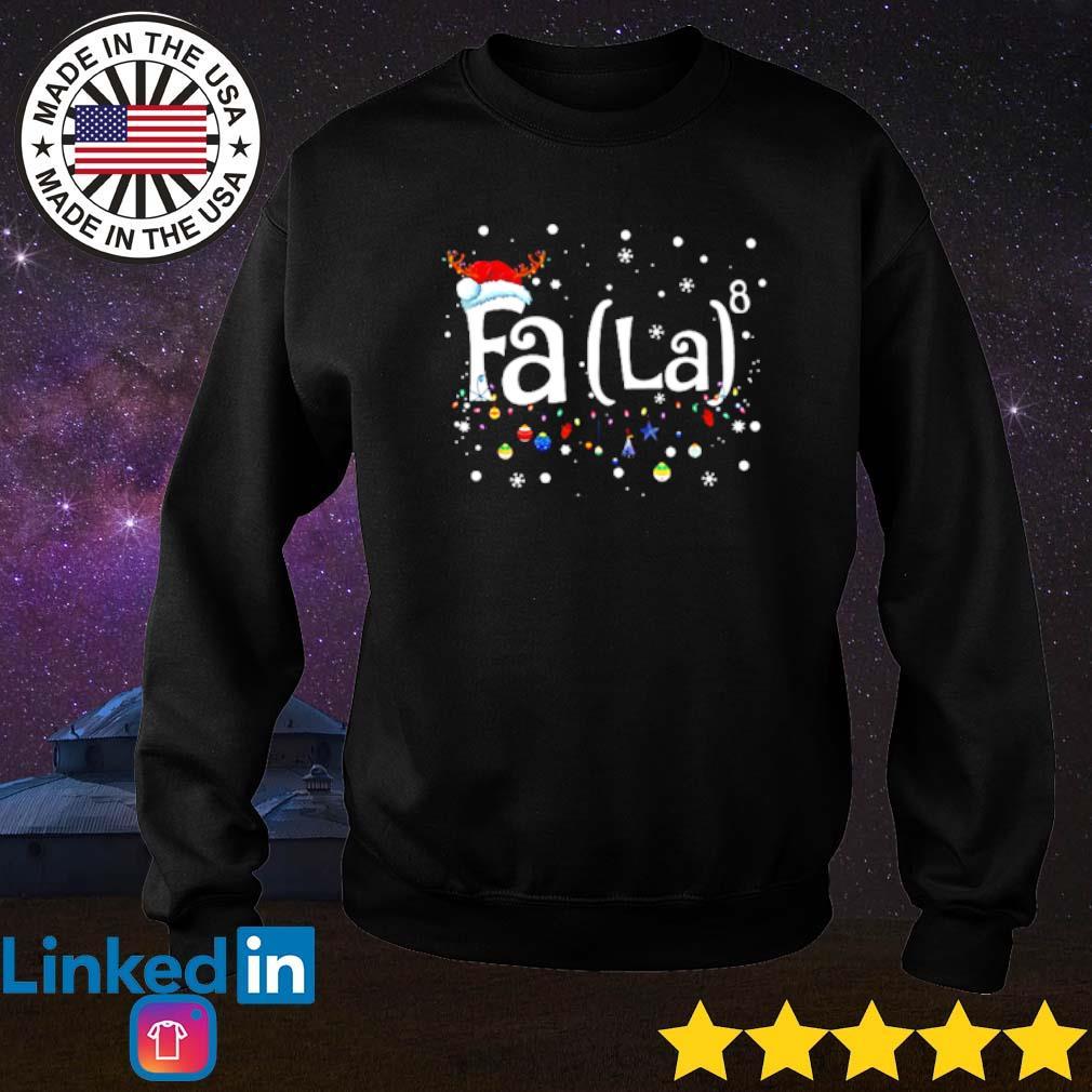 Santa Claus Fa La Christmas sweater