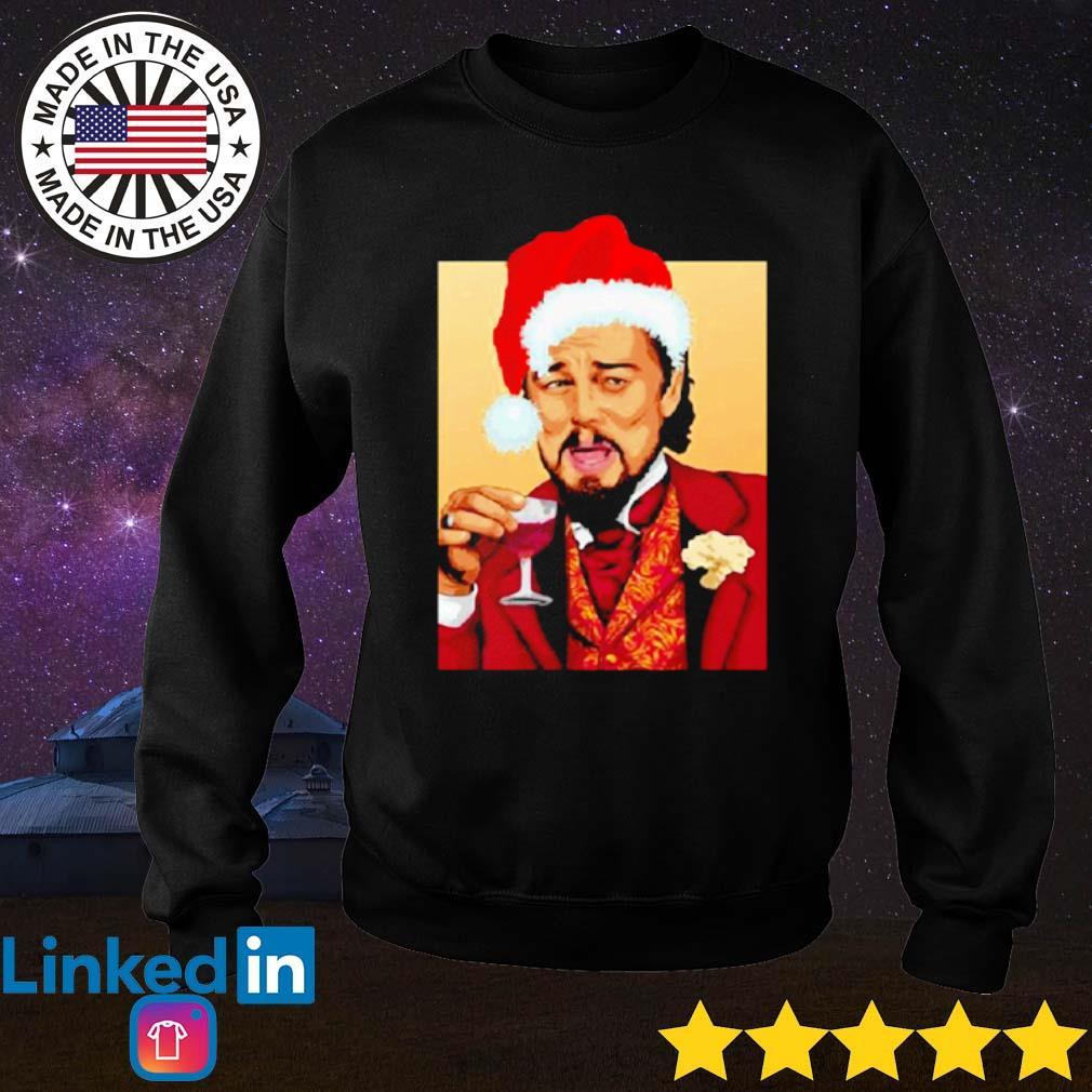 Santa Leonardo DiCaprio Christmas sweater