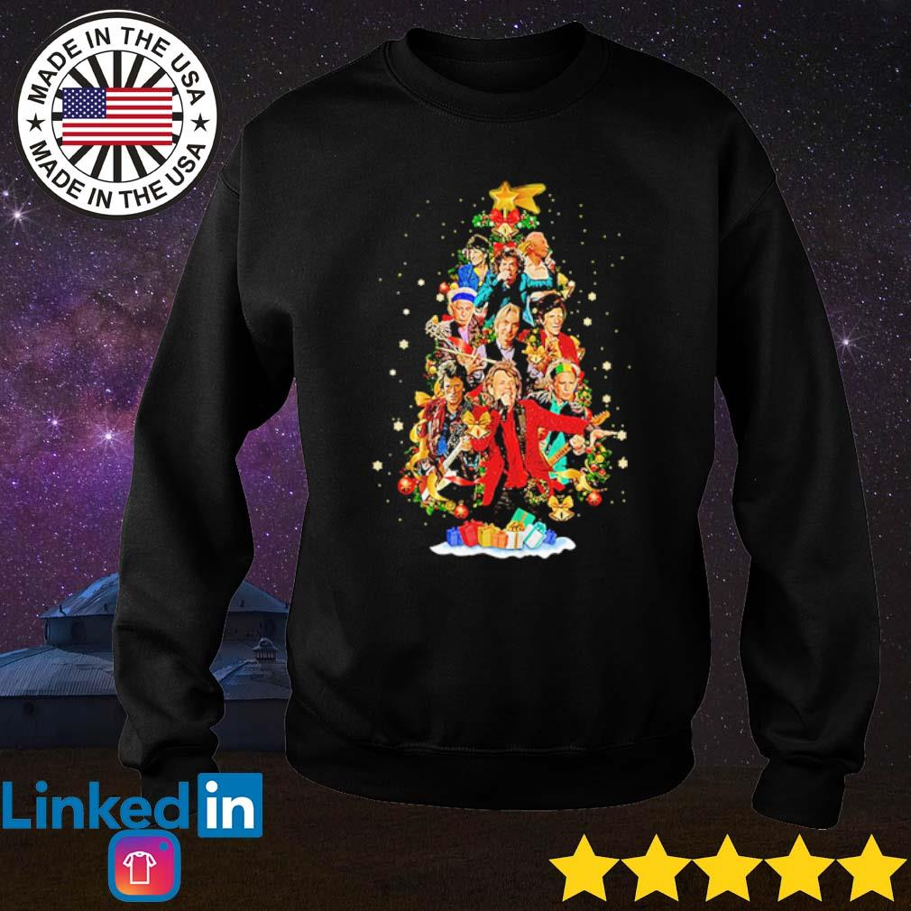 Sing this all together The Rolling Stones Christmas tree sweater