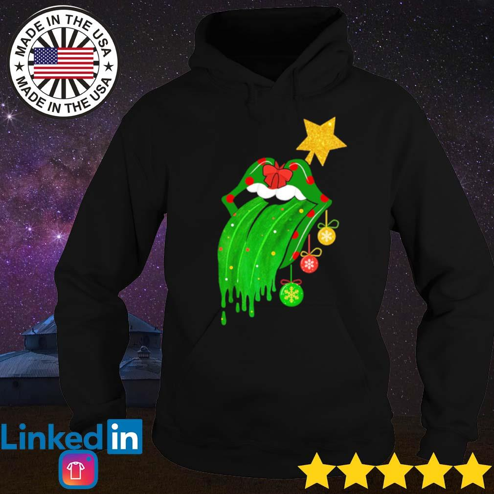 Sing this all together The Rolling Stones green Christmas sweater Hoodie