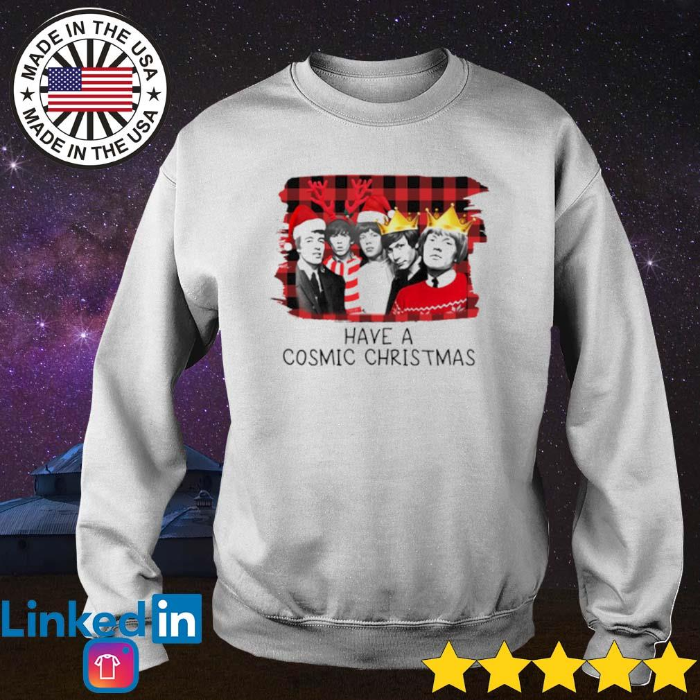 The Rolling Stones have a cosmic Christmas sing this all together sweater