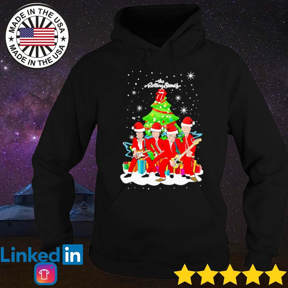 The Rolling Stones sing this all together Christmas tree sweater Hoodie