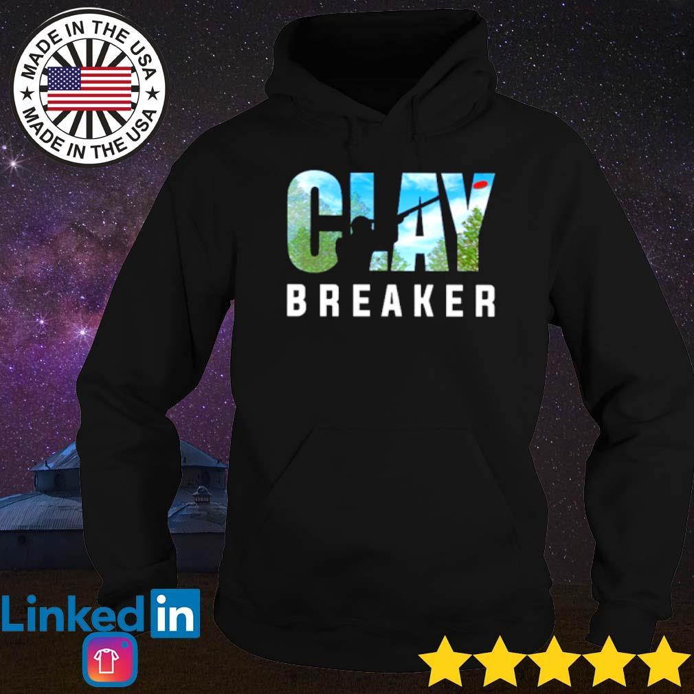 Trap shooting Clay Breaker s Hoodie