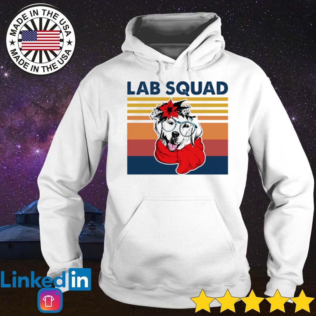 Vintage Labrador Lab squad s Hoodie