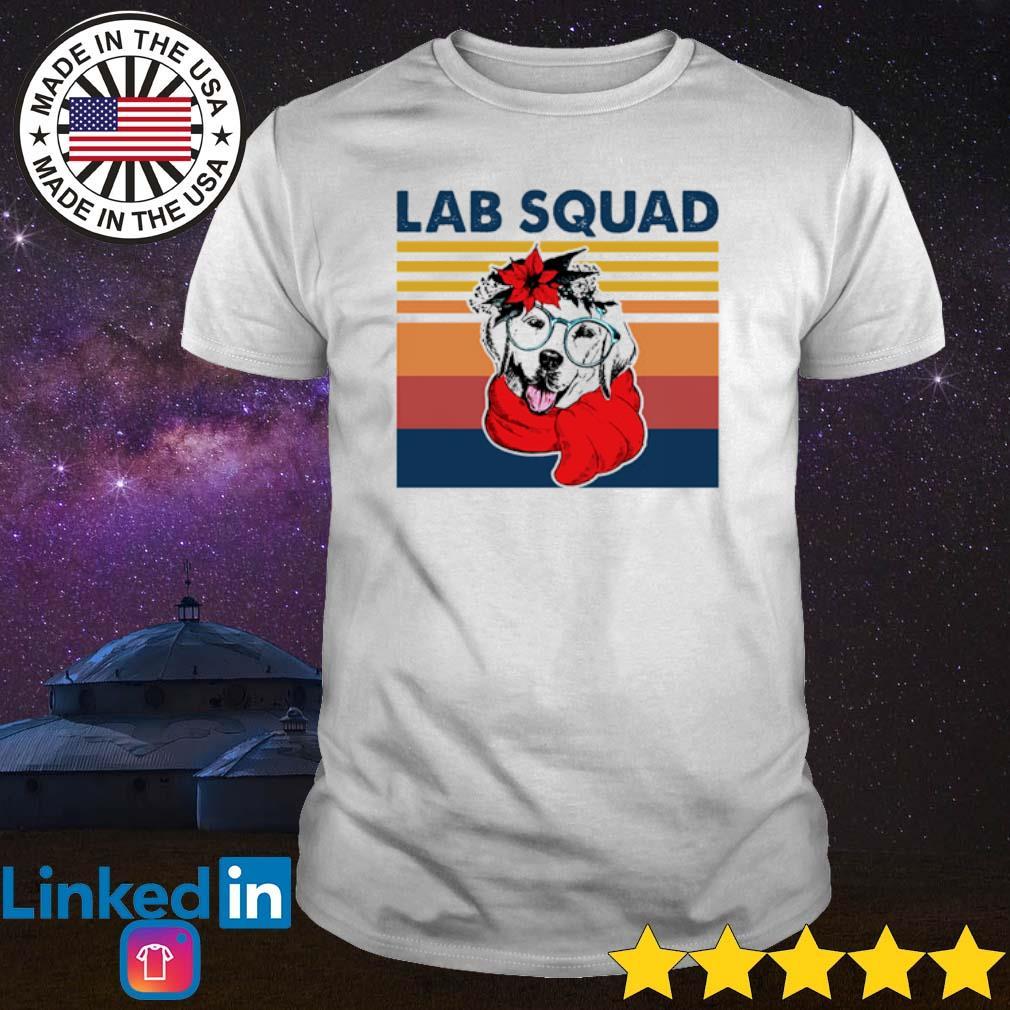 Vintage Labrador Lab squad shirt