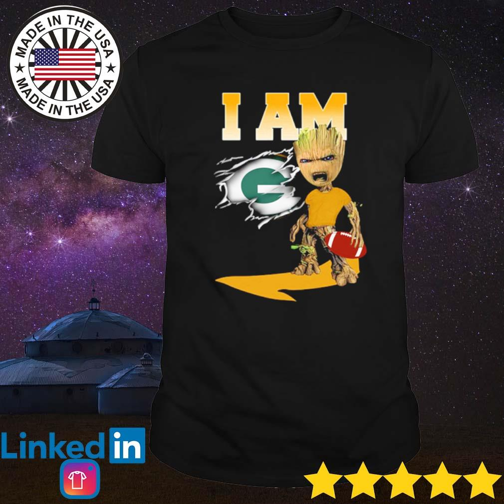 I am Groot Green Bay Packers shirt