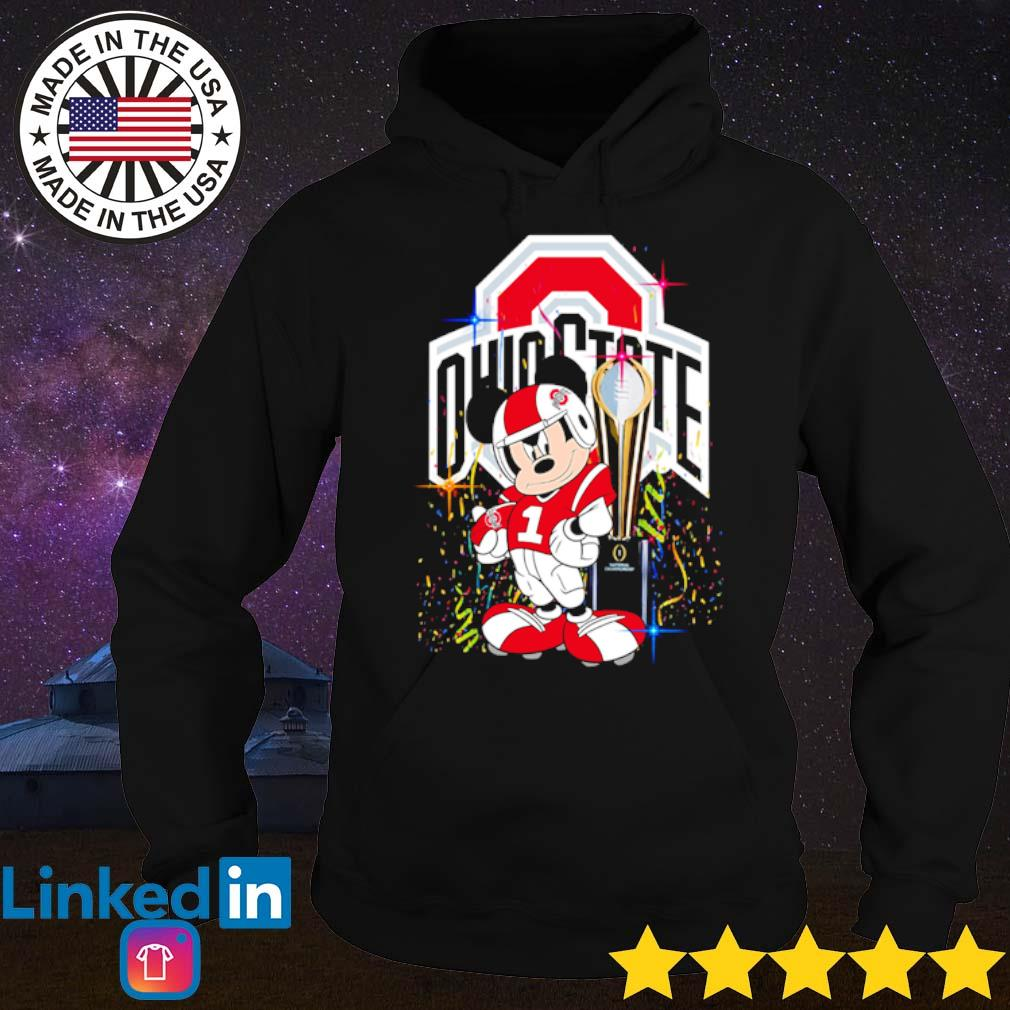 Ohio State Buckeyes Mickey Mouse champions cup s Hoodie