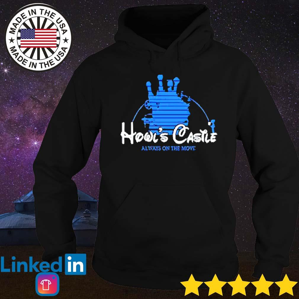 Howl's Castle always on the move disney s Hoodie